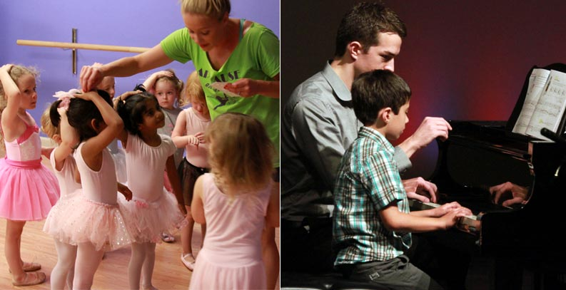 careers in dance and music at Michigan Academy